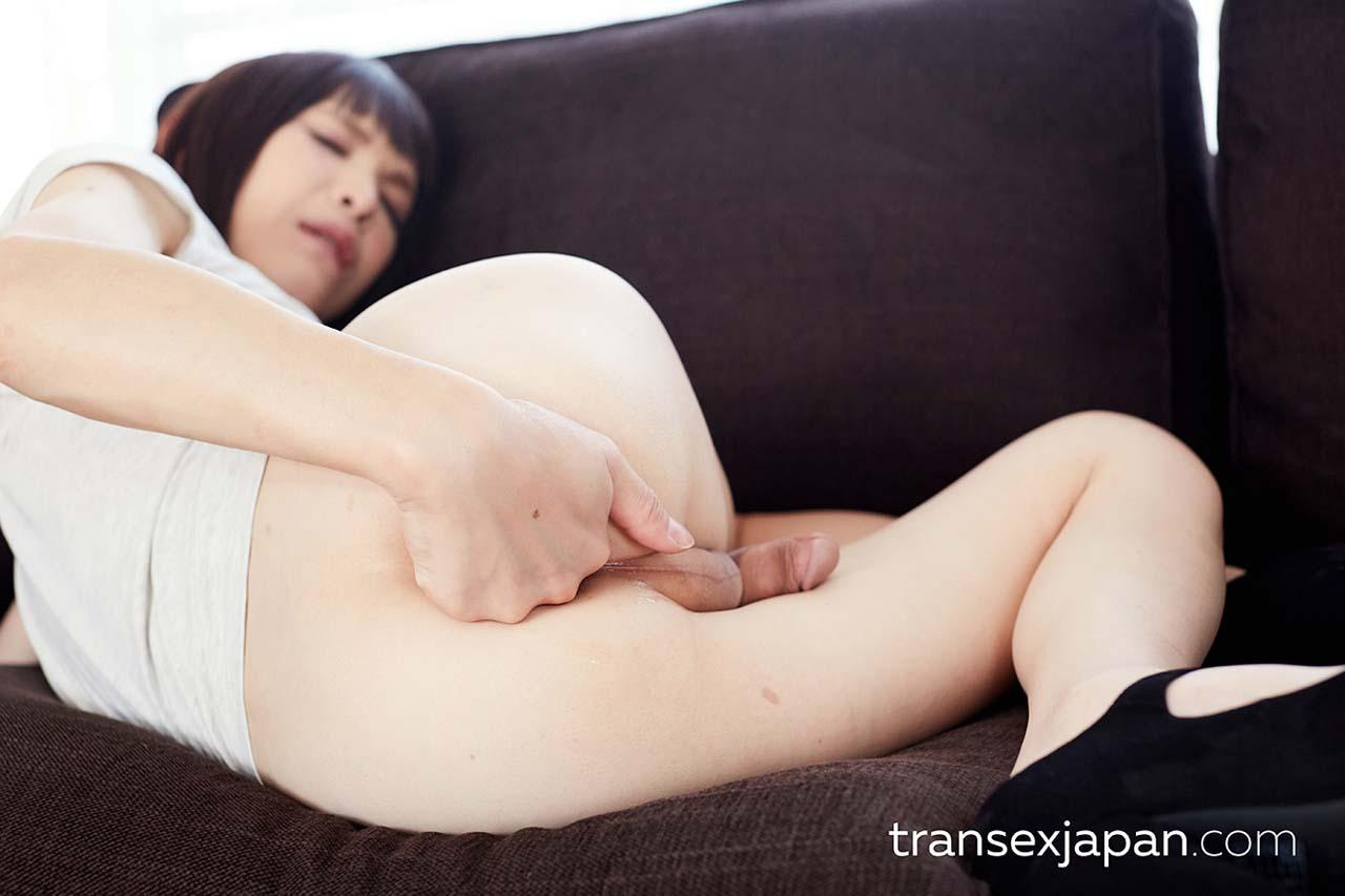 Yui Kawai, the SheMale NewHalf porn star nude in