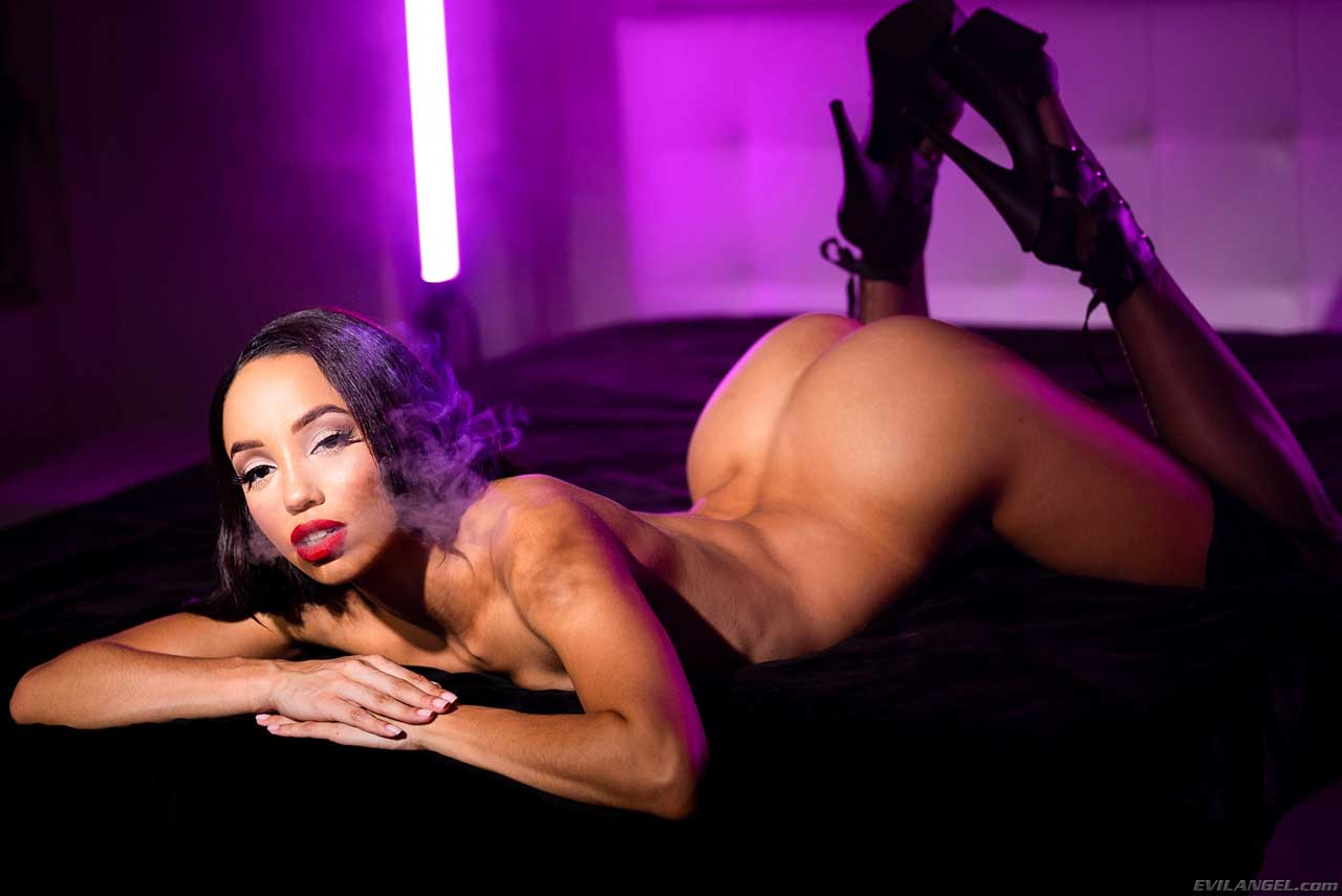 Alexis Tae Anal Fantasy. A smoking nude girl enjoys Anal Sex and Facials in a sex video by Jonni Darkko for Evil Angel.