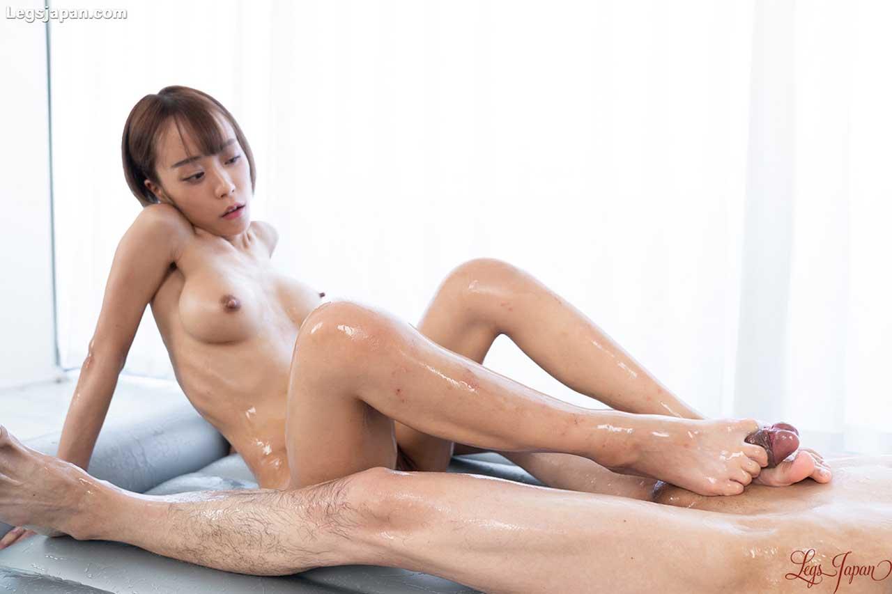 Nanako Nanahara Nude Footjob. A Leg Fetish and Foot Sex video at LegsJapan, uncensored Japanese Foot Fetish.