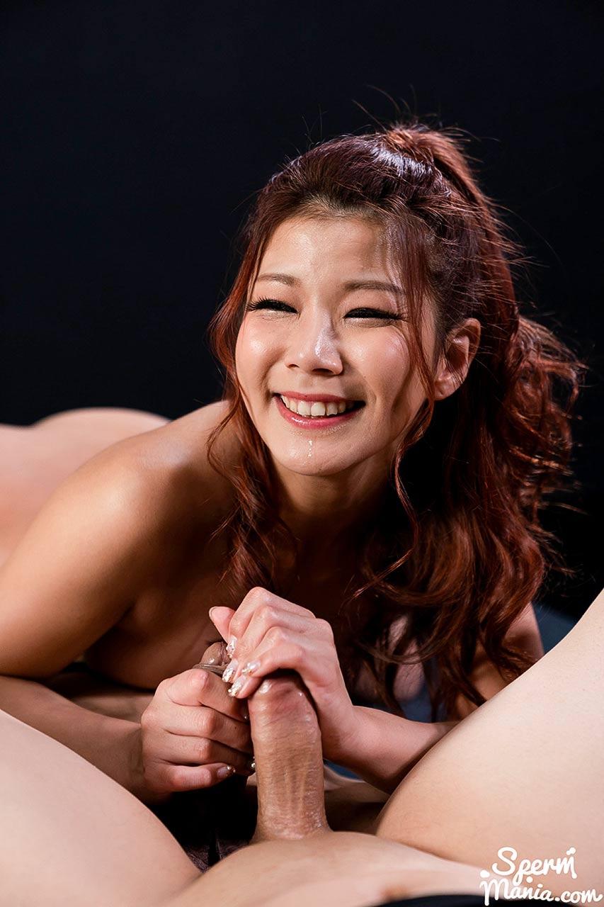 Saki Kawanami's Sloppy Seconds Handjob at SpermMania. Saki Kawanami, full nude, in an uncensored Cum Fetish video. She strokes two cocks for a Cum Handjob.