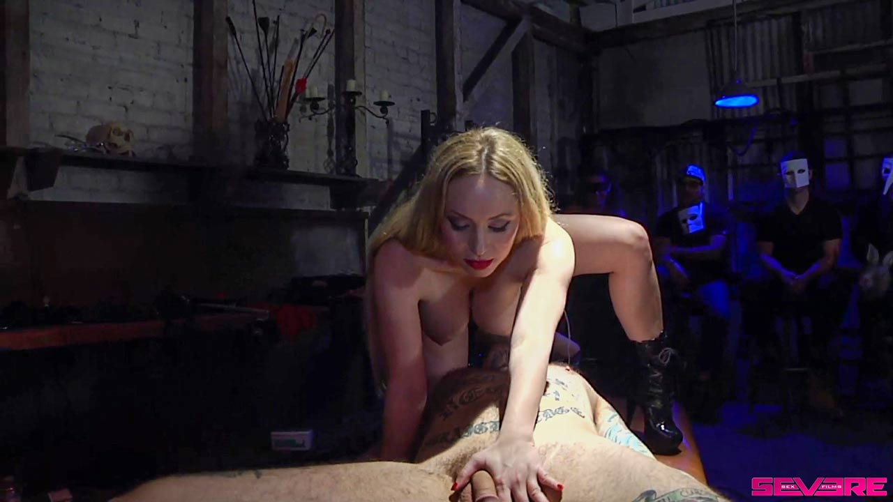 Treacherous Orgy, featuring Mickey Mod, Ruckus, Aiden Starr, Nikki Darling and ProVillain. A BDSM Group sex video at Kink unlimited.
