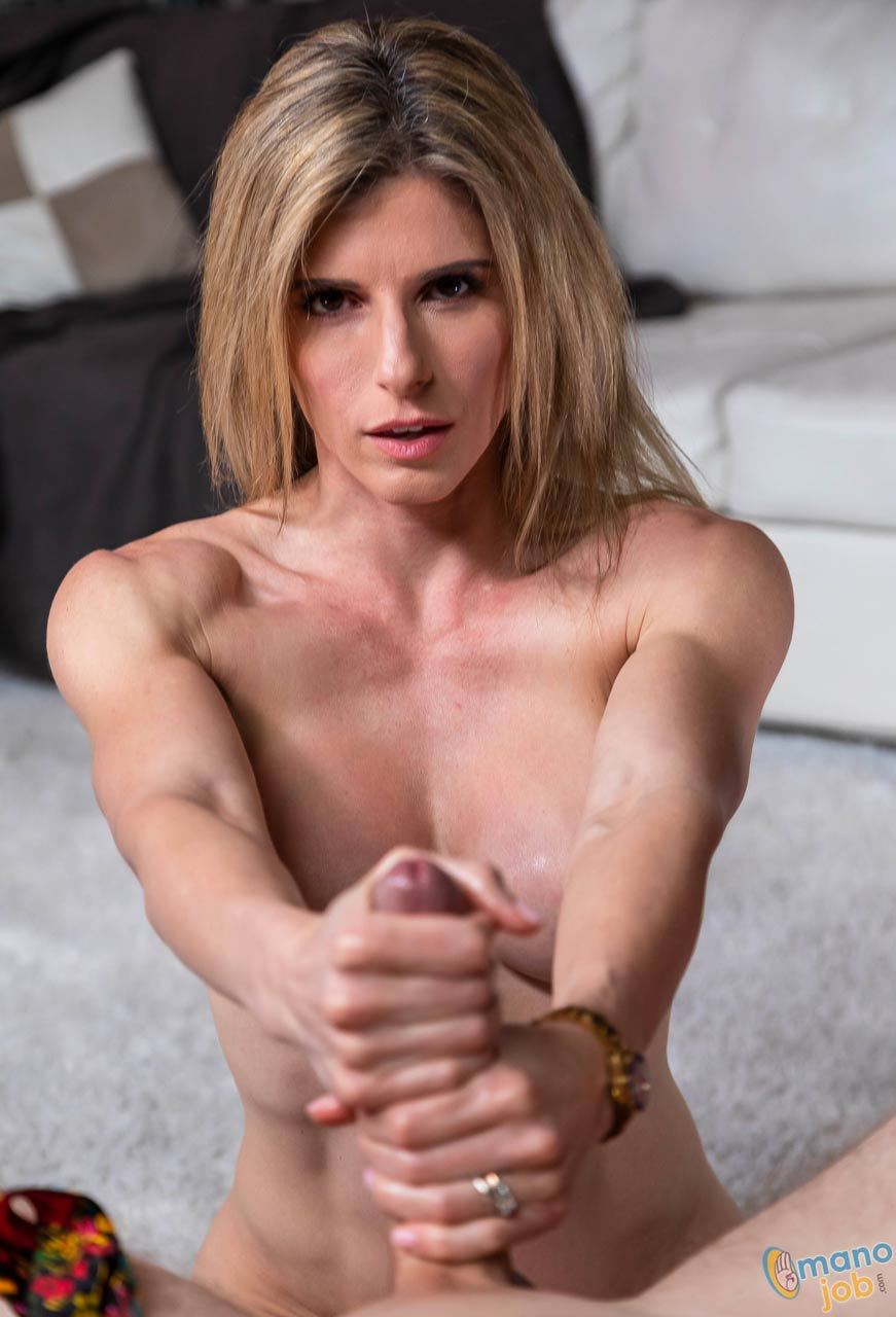 Cory Chase nude for ManoJob. Handjobs, Blowjobs, Titjobs and Facials. Pure porn with Cory Chase stroking, rubbing and sucking cock, swallowing sperm and getting a facial cumshot.